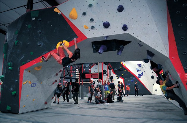 Threshold Climbing's gym offers training courses in bouldering, auto-belays, top-rope and lead climbing. | Photo Threshold Climbing, Fitness & Yoga / provided