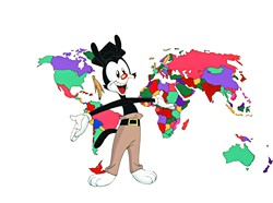 """""""Yakko's World"""" is one of the most recognized songs in the colorful musical history of Animaniacs 