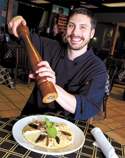 Tony Lachance became chef and owner at Caffé Pranzo in October 2013. | Photo Gazette / file