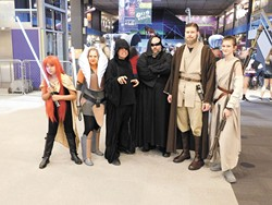 Those who attended Science Museum Oklahoma's last Star Wars-themed Science Overnight got the chance to pose with several of their favorite characters. | Photo Science Museum Oklahoma / provided