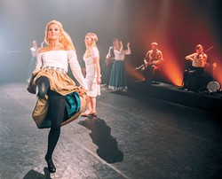 Dublin Irish Dance's Stepping Out explores the Irish immigrant experience through a romantic triangle. | Photo provided
