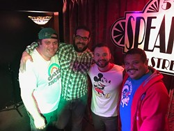 The finalists for this year's Funniest Person in Oklahoma City competition include top from left Alex Sanchez, Mack O. Henson, James Nghiem and Amanda Stonebarger and bottom from left Lenny Vanhorn, Jeramy Westbrook, Steven Patchin and Anthony Cavazos. (provided)