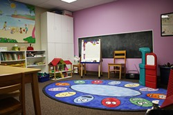 At Calm Waters Center for Children and Families, children meet in age-appropriate groups in rooms created to provide a supportive and understanding place for them to share their experiences and learn coping skills. (Photo Laura Eastes)