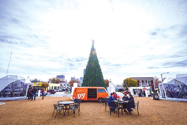 Holiday Pop-Up Shops has operated in Midtown for five years. Retail participants include local businesses. (James Harber / provided)