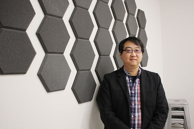 """StarSpace46 co-founder Tommy Yi believes Oklahoma City """"has all the makings of what could be the next major tech city."""" (Photo Laura Eastes)"""