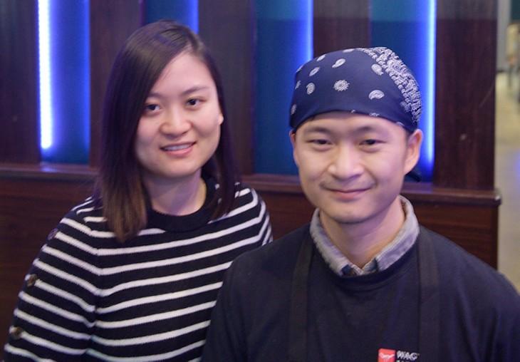 Jade and Li Chen opened Wagyu Japanese BBQ in December 2017. (Photo Jacob Threadgill)