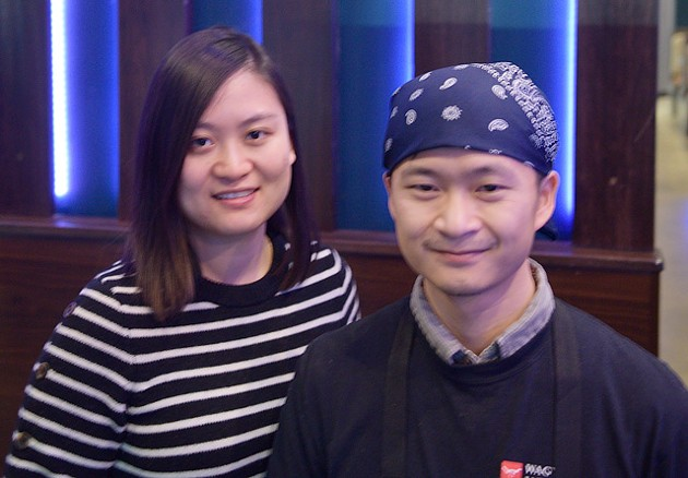 Jade and Li Chen opened Wagyu Japanese BBQ in December 2017. (Photo Jacob Threadgill)