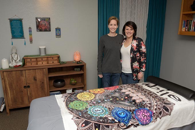 Ashton Boswell and Megan Fife-Boswell opened Transcend Wellness to offer alternatives for general health and pain management. (Photo Garett Fisbeck)