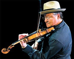 Fiddle player Shelby Eicher and his band will lead music for the third annual Krewe de Banjo Mardi Gras at the American Banjo Museum. | | Photo provided
