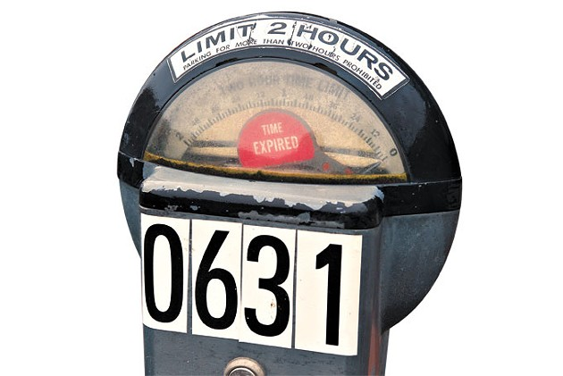 This parking meter and other coin-operated models will be removed from city streets as part of an effort to modernize parking. | Photo Laura Eastes