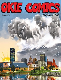The first issue of Okie Comics Magazine launched early this month | Image Matthew Brendle / provided