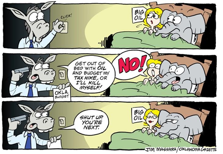 Gazette cartoon Jim Massara