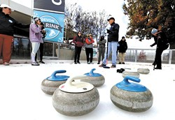 Curling, figure skating and hockey athletes will be on-hand to teach the basics at the 2018 Winter Olympics Expo at Myriad Botanical Gardens Jan 13. | Photo provided