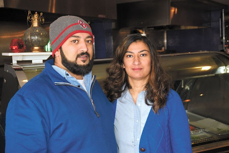 Azim and Huma Akhtar run Fusion Charcoal Grill.   Photo Jacob Threadgill