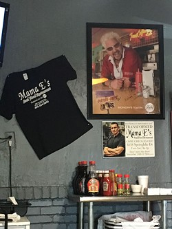 Mama E's is the only restaurant featured on both Diners, Drive-Ins and Dives and Restaurant: Impossible. | Photo Jacob Threadgill