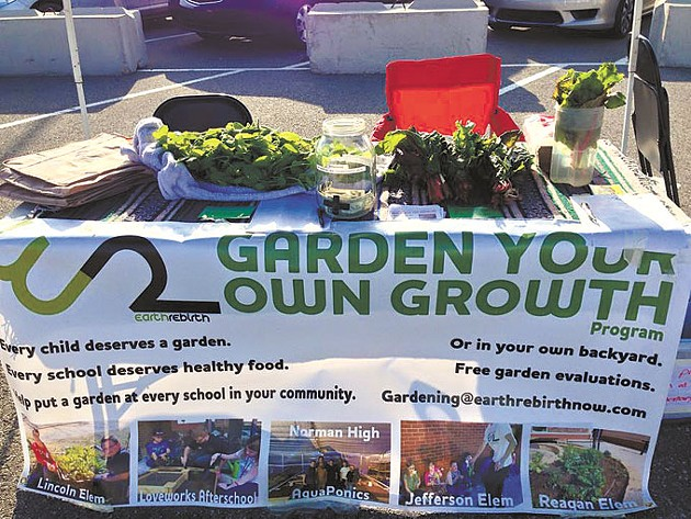 Earth Rebirth has established gardens at 15 schools in Norman. | Photo provided