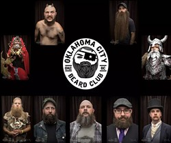 Members of the OKC Beard Club | Photo provided