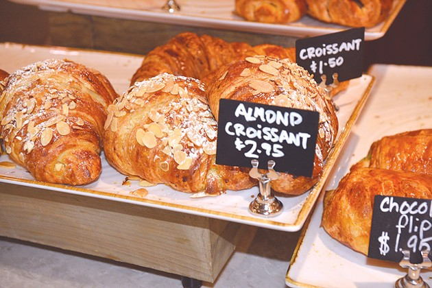 Croissants are made fresh every morning. (Photo Jacob Threadgill)