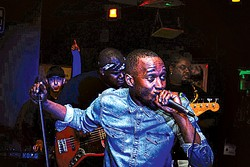 Emcee Spence Browne often joins Culture Cinematic as a featured vocalist.