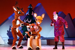 Christmas classic Rudolph the Red-Nosed Reindeer comes to OKC Nov. 19.