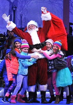 Santa Claus will have a larger role in this year's OKC Phil original performance of The Christmas Show.   Photo Oklahoma City Philharmonic / provided
