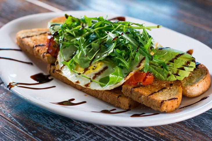 Avocado toast at Neighborhood JA.M. - PROVIDED