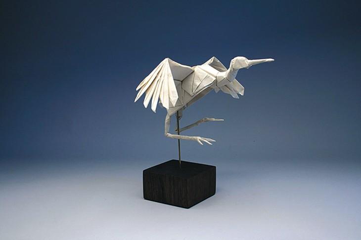 Dancing Crane by Robert J. Lang - SCIENCE MUSEUM OKLAHOMA / PROVIDED
