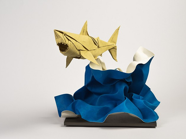 Great White Shark by Nguyen Hung Cuong - SCIENCE MUSEUM OKLAHOMA / PROVIDED