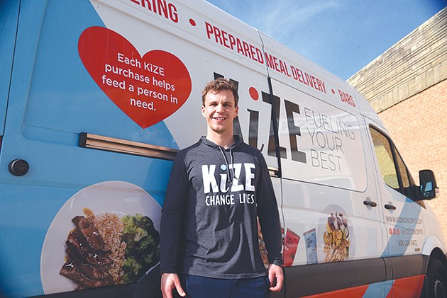 Jeff Ragan founded Kize Concepts in 2013. - JACOB THREADGILL