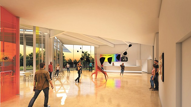 Oklahoma Contemporary Art Center's new facility will include vast space, lighting and other gallery improvements over its current headquarters at State Fair Park. - PROVIDED