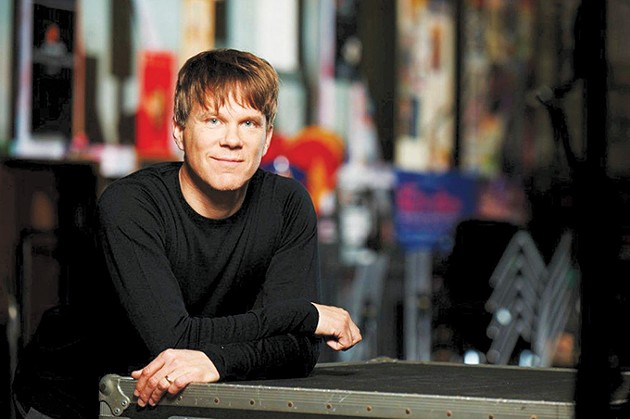 Alexander Mickelthwate will take over as OKC Phil's full-time music director at the end of its current season. - PROVIDED