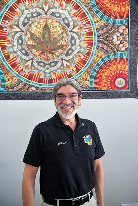 Herban Mother co-owner Hector Najar opened his Paseo Arts District brick-and-mortar location in November 2017. - BEN LUSCHEN