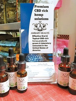 Mann's Best Friend offers a variety of CBD products, including many from Norman's Ambary Health. - PROVIDED