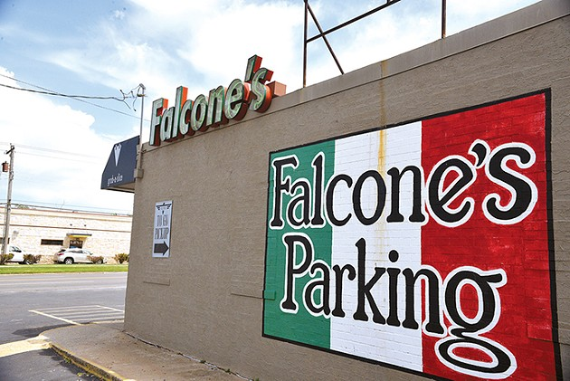 Falcone's Pizzeria is located at 6705 N. May Ave. - JACOB THREADGILL