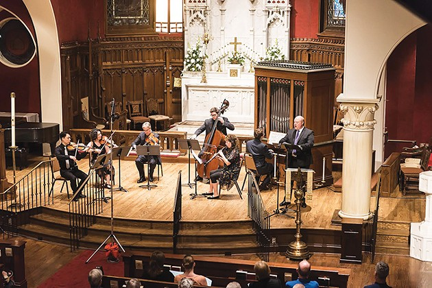 Brightmusic Chamber Ensemble - MICHAEL ANDERSON /  PERFORMING ARTS PHOTOGRAPHY / PROVIDED