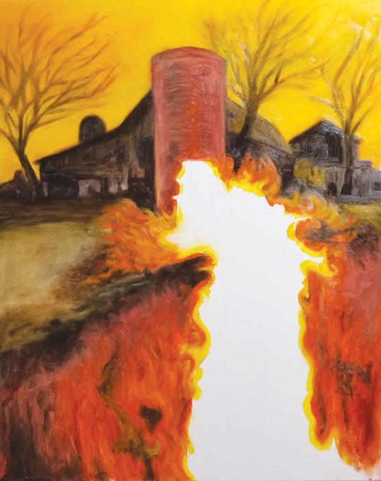 """Family Silo"" by J. Chris Johnson - PROVIDED"