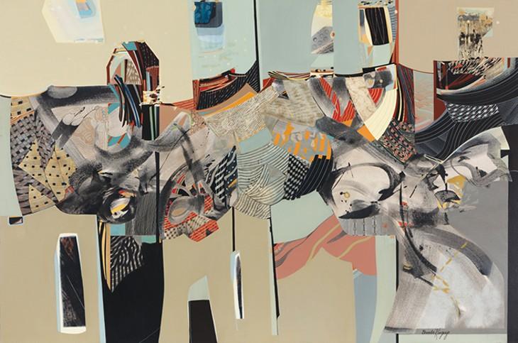 """Watching Now"" by Brenda Kingery - FRED JONES JR. MUSEUM OF ART / PROVIDED"