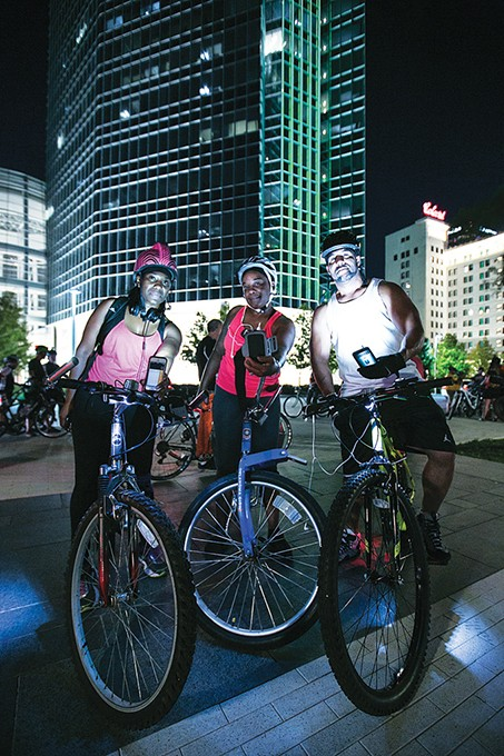 Full Moon Bike Ride and Run is June 21 at Myriad Botanical Gardens. - PROVIDED