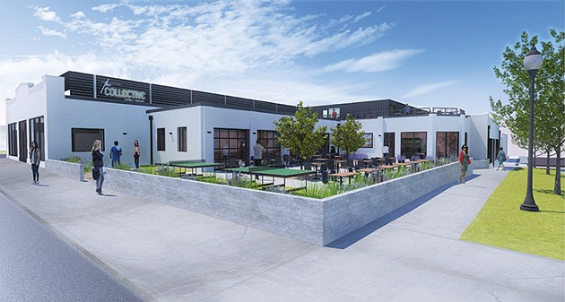 The Collective Kitchens + Cocktails will be located at 308 NW 10th St. and is slated for an early 2019 opening. - PROVIDED