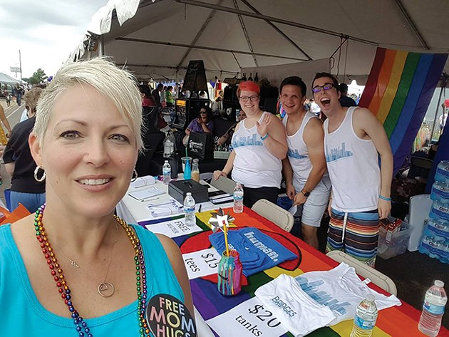 Free Mom Hugs will run the beer tent at this year's Pride events. - PROVIDED