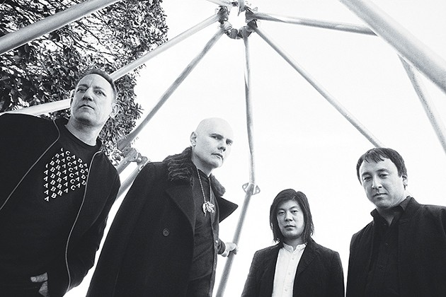 The Smashing Pumpkins, 2018 edition: left to right Jimmy Chamberlin, Billy Corgan, James Iha and Jeff Schroeder. - OLIVIA BEE / PROVIDED