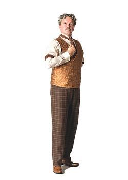 George Dvorsky stars as Horace Vandergelder in Lyric Theatre of Oklahoma's production of Hello, Dolly! - K.O. RINEARSON OF OKLAHOMA / PROVIDED