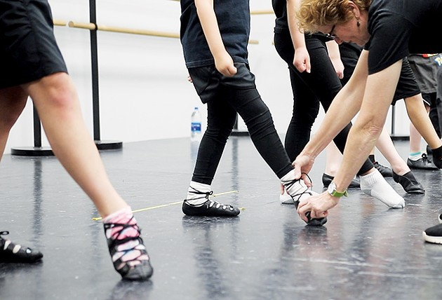 Jean Hill teaches a variety of hard and soft shoe Irish dancing at Hill Irish Dance School. - HILL IRISH DANCE SCHOOL / PROVIDED