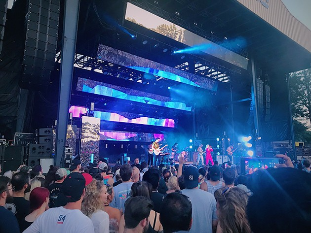 Paramore played at The Zoo Amphitheatre July 8. - JO LIGHT