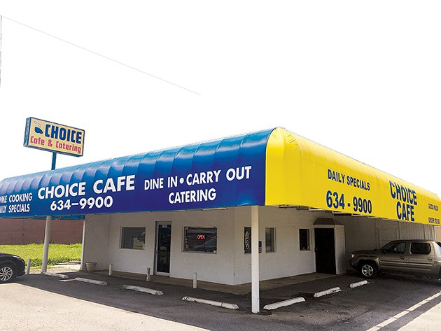Choice Cafe is located at 5205 S. Shields Blvd. - JACOB THREADGILL