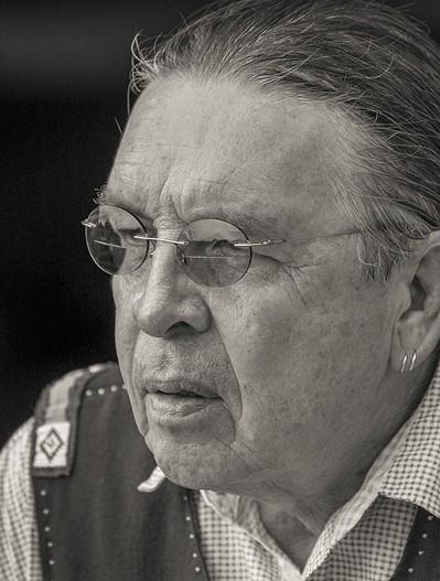 Harvey Pratt was chosen to design the National Native American Veterans Memorial. - NEIL CHAPMAN  / SMITHSONIAN INSITUTION / PROVIDED