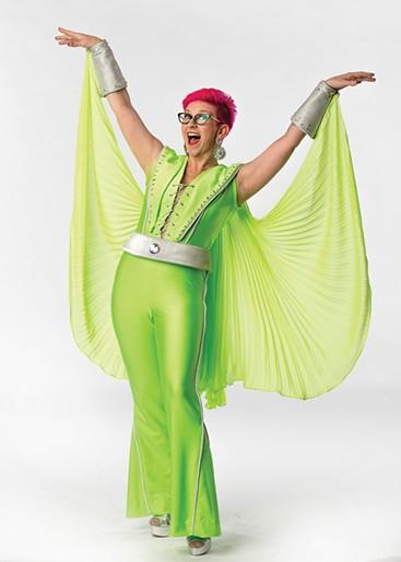 Renee Anderson plays Rosie in Mamma Mia! - KO RINEARSON / LYRIC THEATRE OF OKLAHOMA / PROVIDED