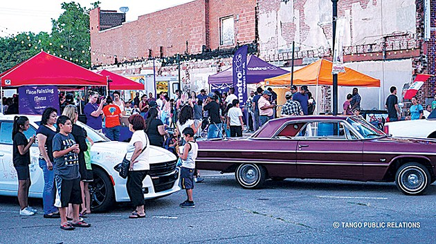 A classic car show is one of the reoccurring features of Fiesta Friday. - PROVIDED