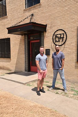David Tester and Christopher Hunt of 1577 Productions moved to the Iron Works District in search of more space and lower rent. - MEG CHERIE