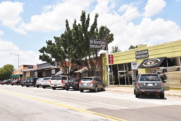 Old Town of Britton, which was annexed by Oklahoma City in 1950, is in the early stages of revivalization. - MEG CHERIE